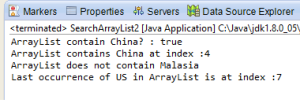 search array list 1