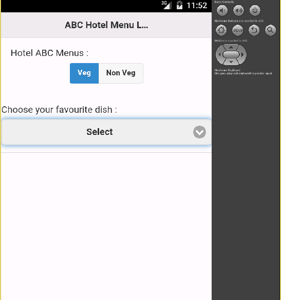 Cordova Android Application with Jquery Ajax request example